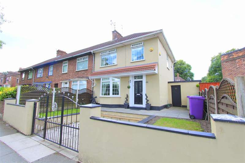 3 Bedrooms Town House for sale in Queens Drive, Stoneycroft, Old Swan, Liverpool