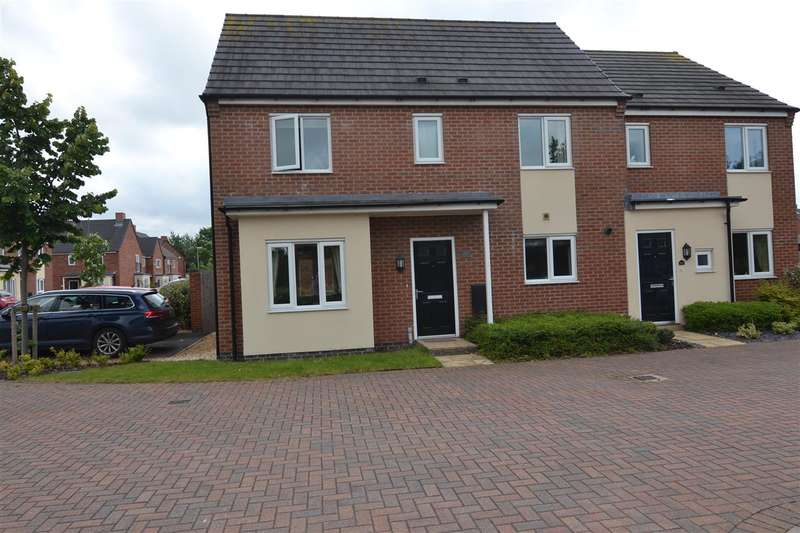 3 Bedrooms Semi Detached House for sale in St Thomas Way, Rugeley
