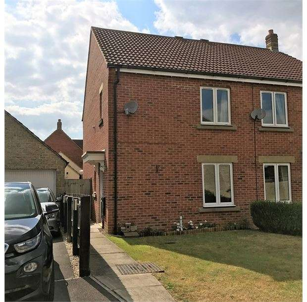 3 Bedrooms Semi Detached House for sale in Beaufort Close, Elborough Village, Weston-super-Mare, North Somerset. BS24 8PN