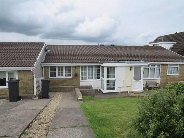 2 Bedrooms Terraced Bungalow for sale in Ridgewood Gardens, Cimla, Neath, West Glamorgan