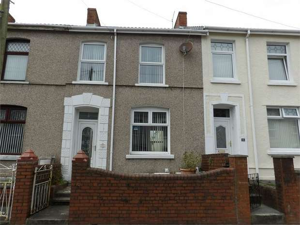 3 Bedrooms Terraced House for sale in Brynallt Terrace, Llanelli, Carmarthenshire