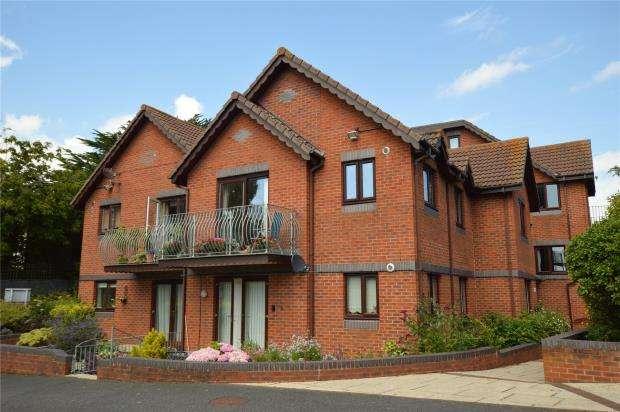 2 Bedrooms Flat for sale in Ashley House, Raddenstile Lane, Exmouth, Devon
