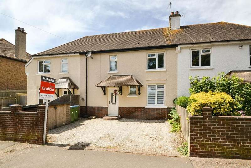 3 Bedrooms Terraced House for sale in Hawthorn Road, Bognor Regis, West Sussex, PO21 2DG