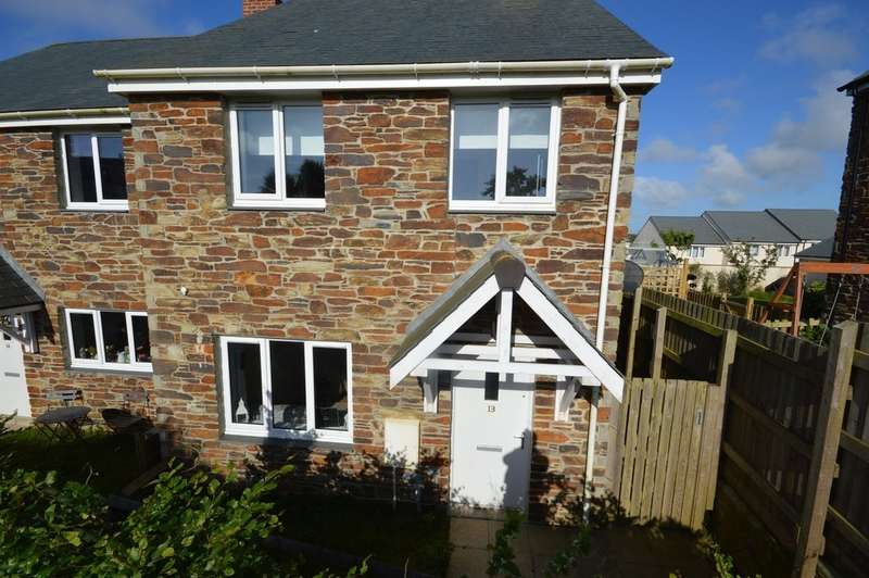 2 Bedrooms Semi Detached House for sale in Kew Breanek, St Agnes