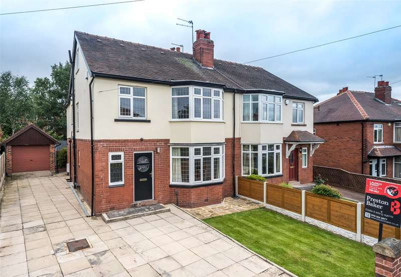 5 Bedrooms Semi Detached House for sale in Becketts Park Drive, Leeds, West Yorkshire, LS6