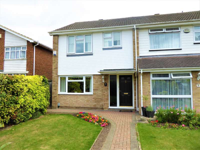 3 Bedrooms End Of Terrace House for sale in Kingsgate Close, Bexleyheath, Kent, DA7 4SX