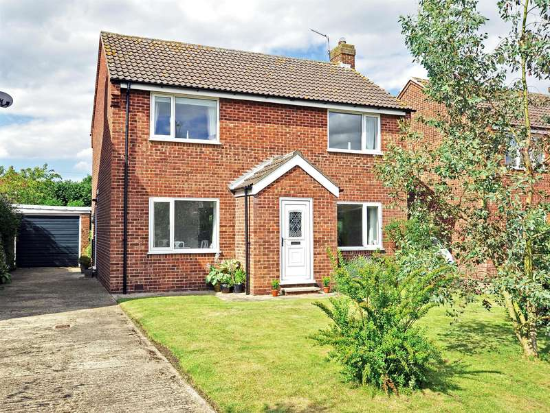 4 Bedrooms Detached House for sale in Garth Avenue, North Duffield, Selby, YO8 5RP