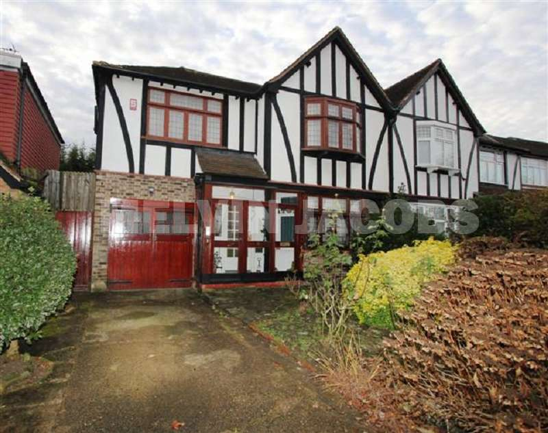 4 Bedrooms Semi Detached House for sale in Hillersdon Avenue, Edgware, Greater London. HA8 7SG