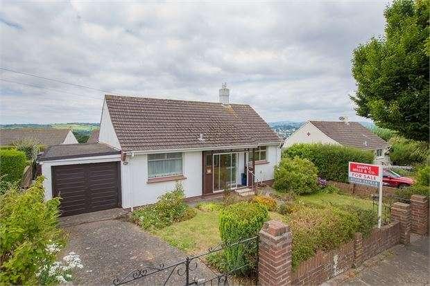2 Bedrooms Detached Bungalow for sale in Haytor Drive, Haytor Drive, Newton Abbot, Devon. TQ12 4DR