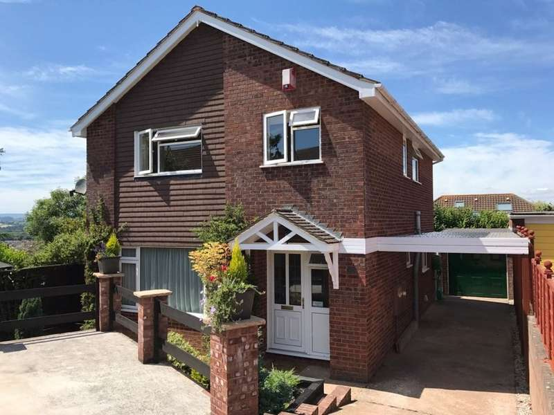 4 Bedrooms Detached House for sale in Longfield Avenue, Kingsteignton, Newton Abbot