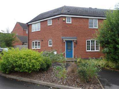 3 Bedrooms Semi Detached House for sale in Godwin Way, Stoke-On-Trent, Staffordshire