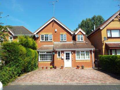 4 Bedrooms Detached House for sale in Viaduct Drive, Wolverhampton, West Midlands