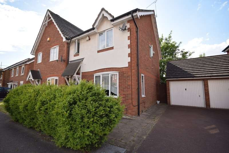3 Bedrooms Semi Detached House for sale in Heathfield Park Drive, Romford, Essex, RM6
