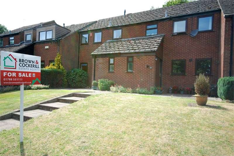 3 Bedrooms Terraced House for sale in Hadfield Close, Clifton upon Dunsmore, RUGBY, Warwickshire