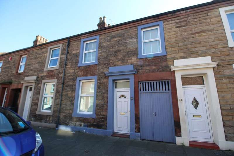 3 Bedrooms Property for sale in Trafalgar Street, Carlisle, CA2