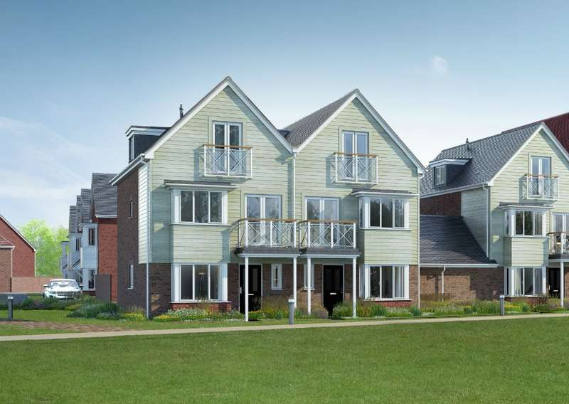 4 Bedrooms Town House for sale in The Petworth, Holborough Lakes, Manley Boulevard, Holborough, ME6