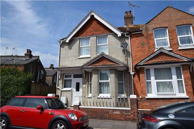 2 Bedrooms End Of Terrace House for sale in Willowfield Road, EASTBOURNE, East Sussex, BN22 8AX