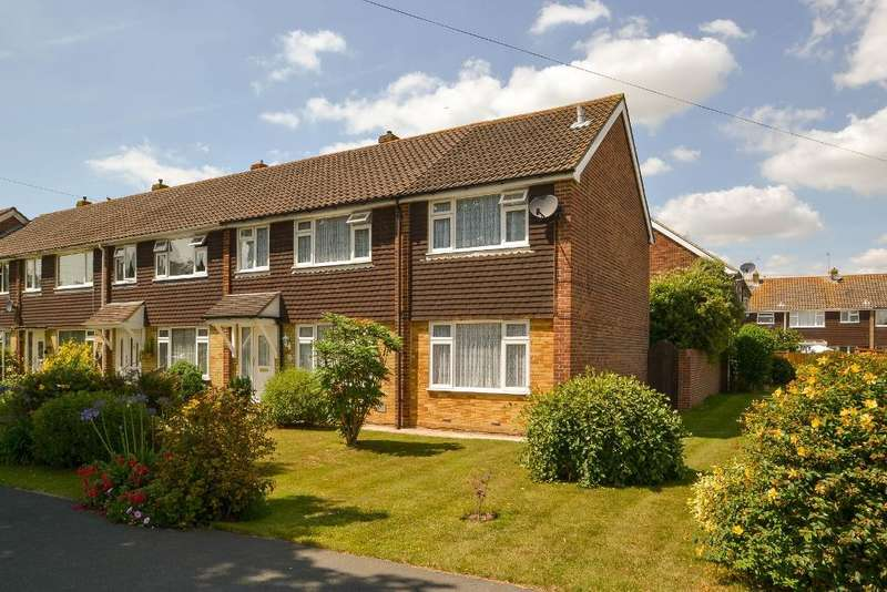 4 Bedrooms End Of Terrace House for sale in Pembroke Way, West Meads, Bognor Regis, West Sussex, PO21 5PU