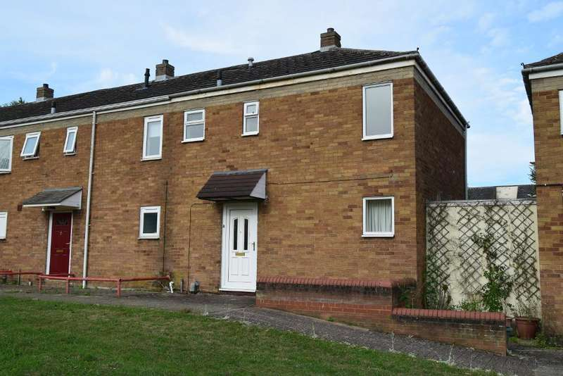 2 Bedrooms End Of Terrace House for sale in Hazelwood Walk, Huntingdon, PE29 1HR