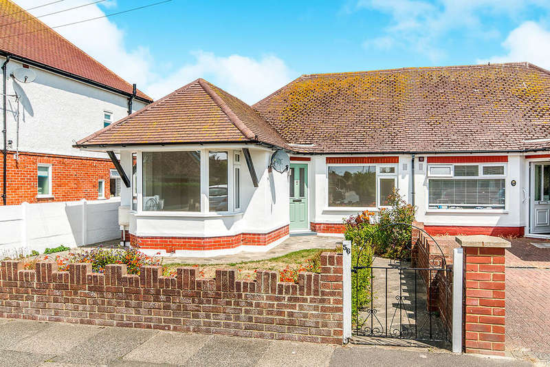 2 Bedrooms Semi Detached Bungalow for sale in Stanley Road, Broadstairs, CT10