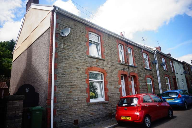 3 Bedrooms End Of Terrace House for sale in Woodville Terrace, Argoed, Blackwood, NP12