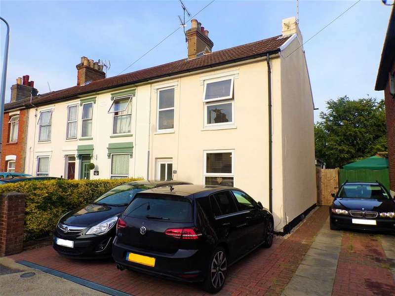 2 Bedrooms End Of Terrace House for sale in Alan Road, Ipswich