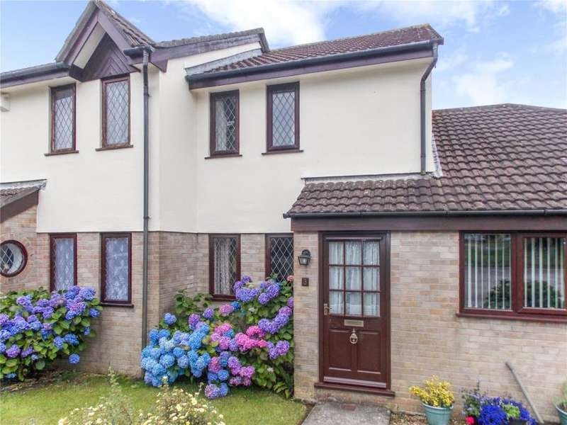 2 Bedrooms Terraced House for sale in Treworgan Court, St Erme, Truro