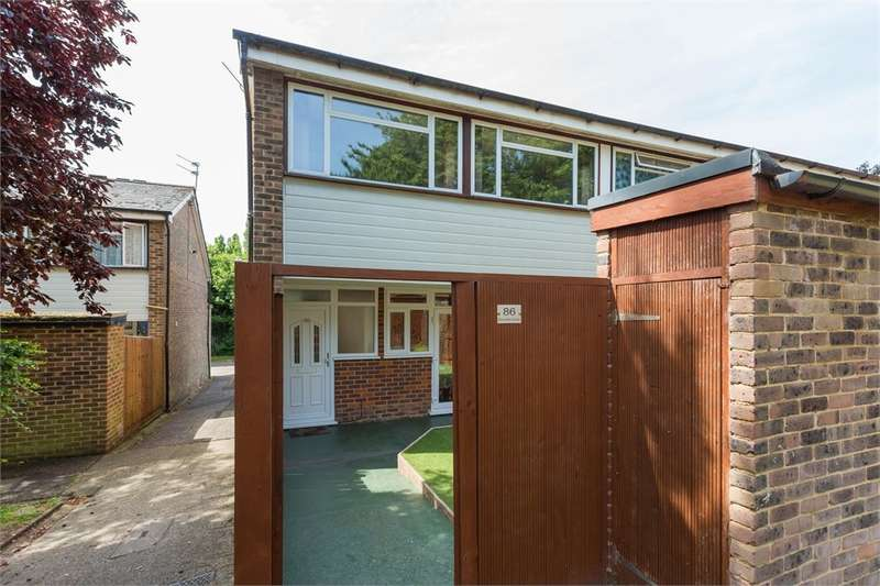 2 Bedrooms End Of Terrace House for sale in Dovedale Close, Harefield, Middlesex