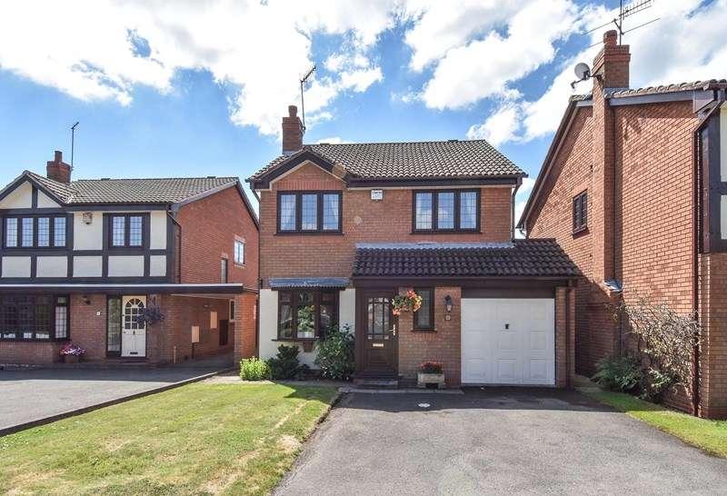 3 Bedrooms Detached House for sale in Beechcroft Drive, Bromsgrove