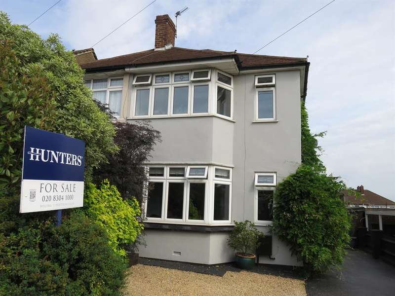 3 Bedrooms Semi Detached House for sale in Somerset Avenue, Welling, Kent, DA16 2LR