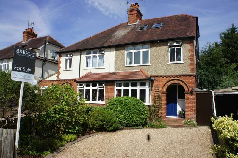 4 Bedrooms Semi Detached House for sale in Hemdean Road, Caversham