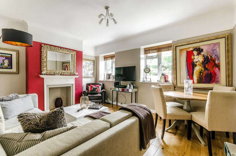 2 Bedrooms Flat for sale in Warwick Lodge, West Hampstead, NW2