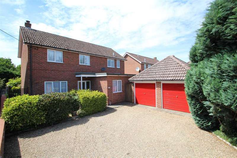 4 Bedrooms Detached House for sale in Bures Road, Great Cornard CO10 0JQ