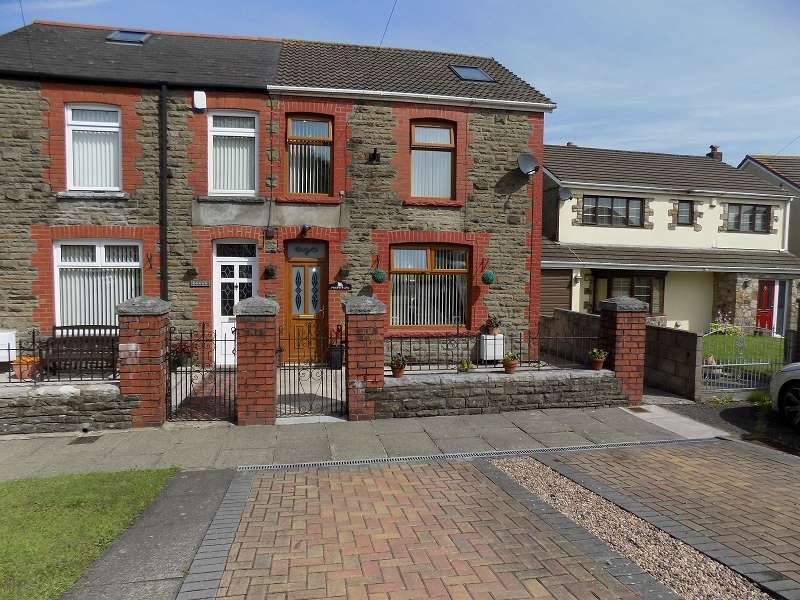 4 Bedrooms Semi Detached House for sale in Morse Row, Bryncethin, Bridgend. CF32 9TP