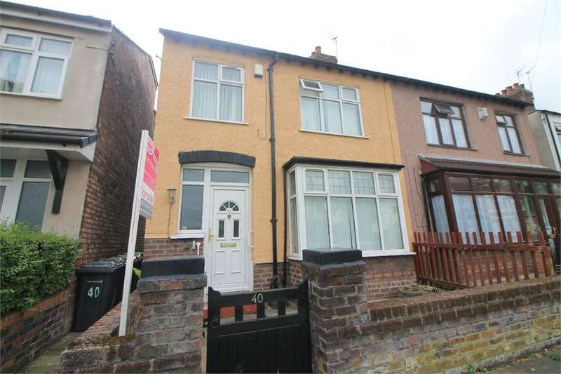 3 Bedrooms Semi Detached House for sale in Myers Road East, CROSBY, Merseyside