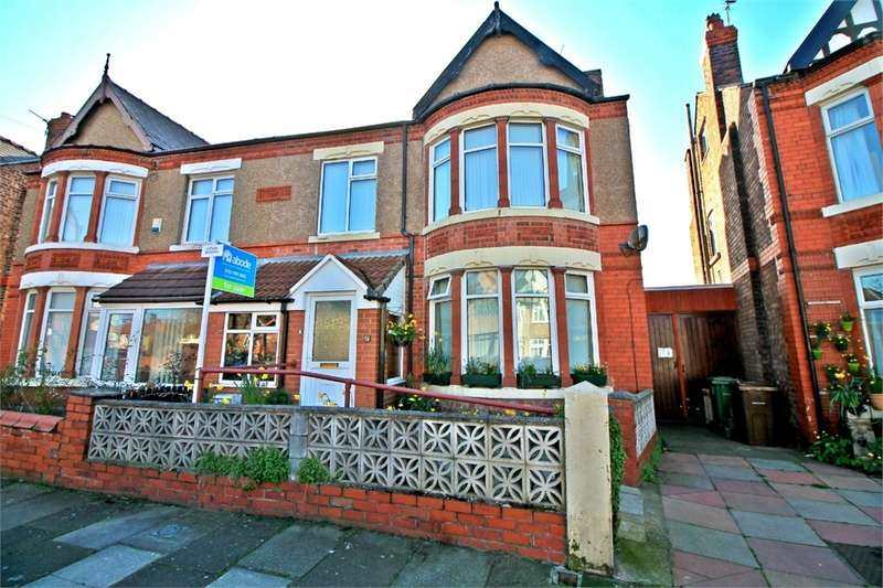 4 Bedrooms Semi Detached House for sale in Coronation Drive, Crosby, LIVERPOOL, Merseyside
