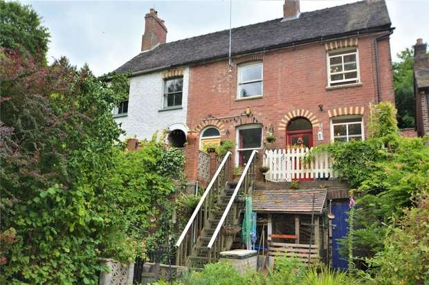 2 Bedrooms End Of Terrace House for sale in 192 Severn Terrace, Salthouse Road, Jackfield, Shropshire