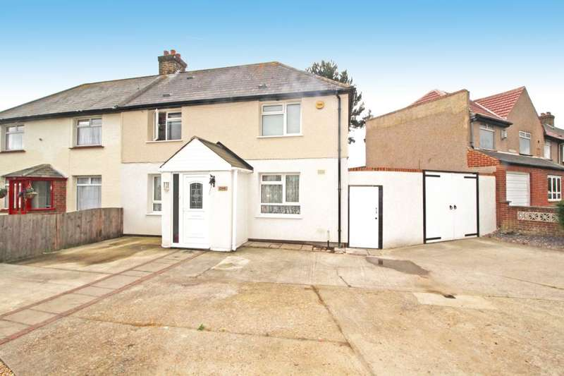 3 Bedrooms Semi Detached House for sale in Maple Road, Dartford, DA1