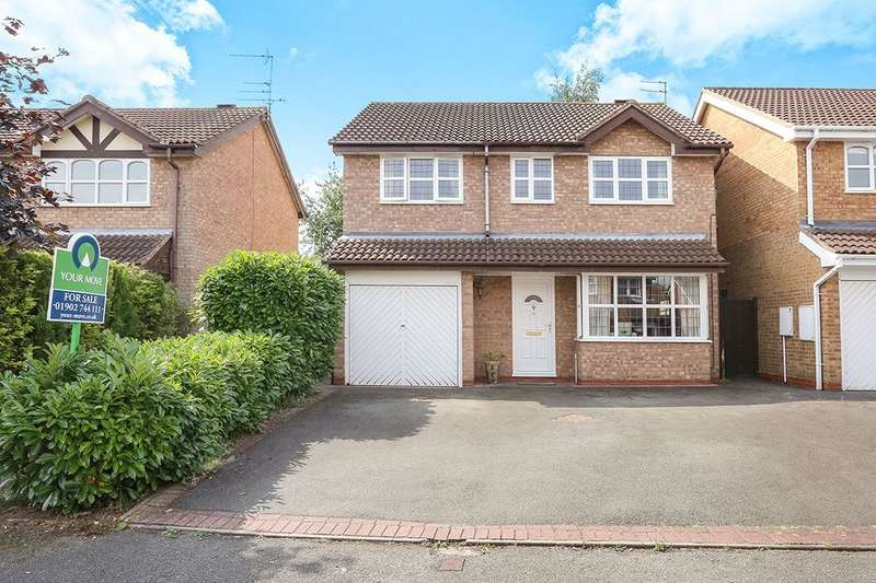 4 Bedrooms Detached House for sale in Oatlands Way, Perton, Wolverhampton, WV6