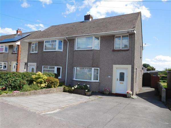 3 Bedrooms Semi Detached House for sale in Churchfield Avenue, Caldicot