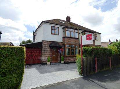 3 Bedrooms Semi Detached House for sale in Windlehurst Road, High Lane, Stockport, Cheshire