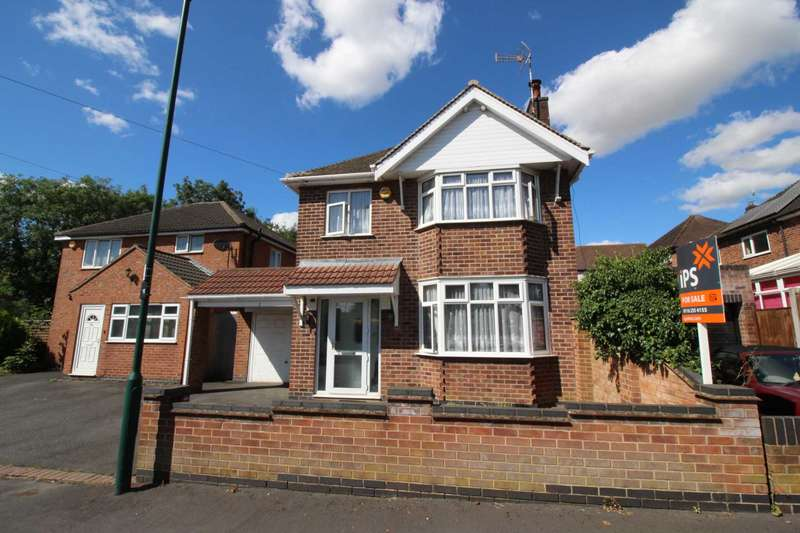 3 Bedrooms Detached House for sale in Forest Rise, Thurnby