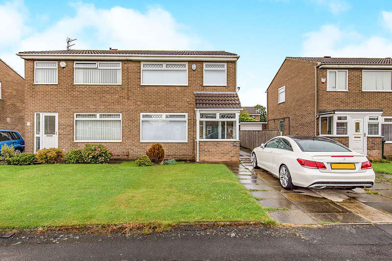 3 Bedrooms Semi Detached House for rent in Sunstar Grove, Marton-In-Cleveland, Middlesbrough, TS7