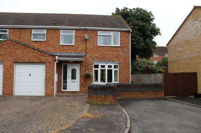 3 Bedrooms Semi Detached House for sale in Charterhouse Close, Brackley, Northamptonshire, Uk