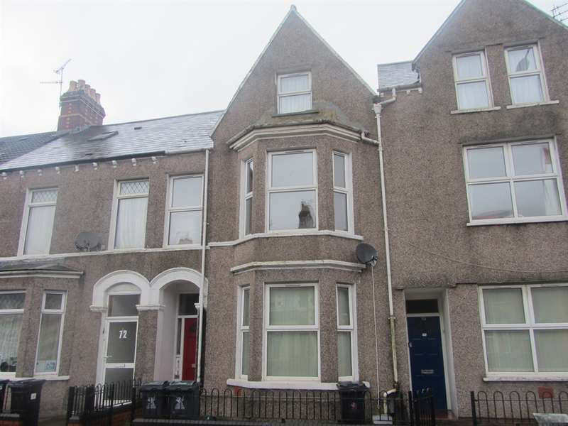2 Bedrooms Ground Flat for sale in Tudor Street, Cardiff