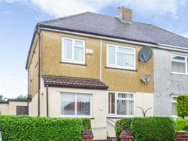 3 Bedrooms Semi Detached House for sale in Western Avenue, Brynmawr, Ebbw Vale, Blaenau Gwent