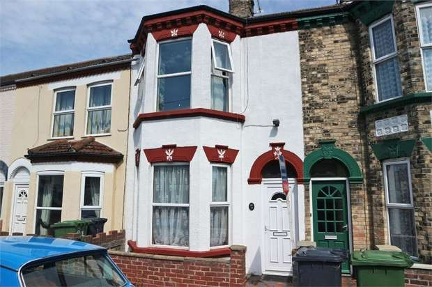 4 Bedrooms Terraced House for sale in Lichfield Road, Great Yarmouth, Norfolk