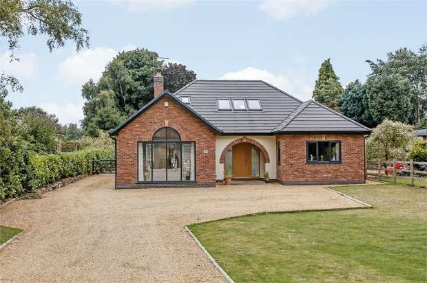 4 Bedrooms Detached House for sale in Chelford Road, Somerford, Congleton, Cheshire