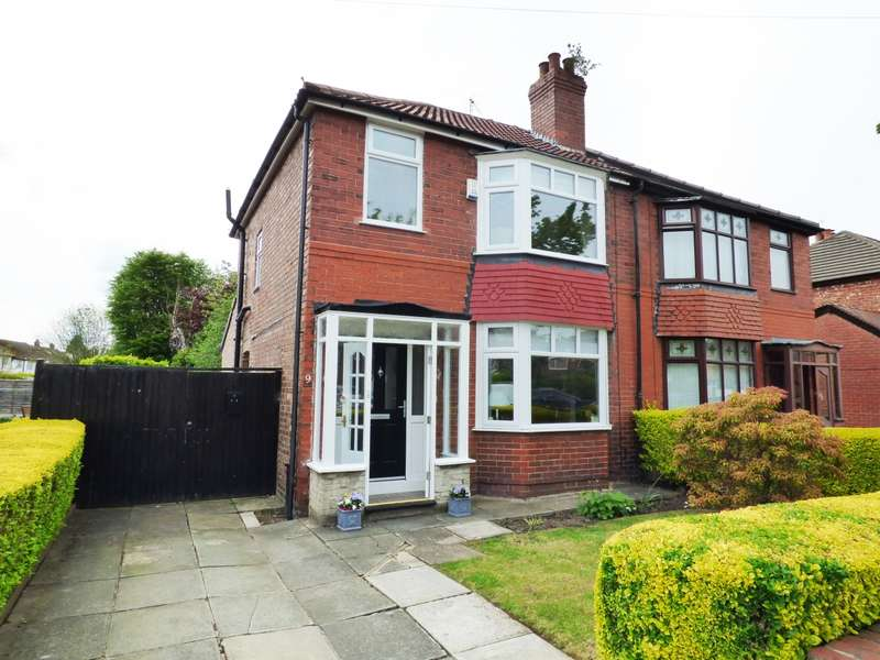 2 Bedrooms Semi Detached House for sale in Rutland Road Hazel Grove Stockport