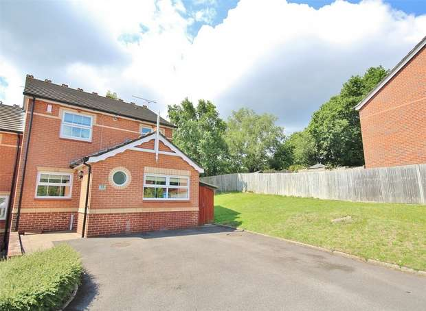 3 Bedrooms Semi Detached House for sale in Chilfrome Close, West Canford Heath, POOLE, Dorset